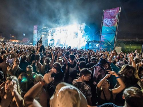 'Ghost' spotted at Brisbane music festival
