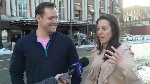 Justin and Melissa Rodger have recounted their wedding day nightmare to local news outlet ABC6.
