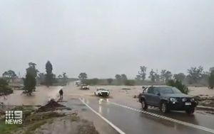 Tourists stranded as South Australia drenched in much-needed rain