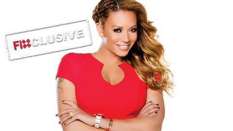 EXCLUSIVE! Mel B's work/life juggle: 'I'm a working mum like all working mums out there'