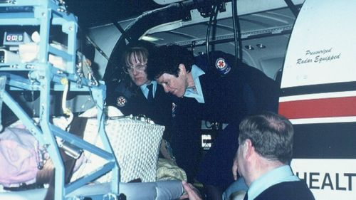 Ms Roberts joined the NSW Air Ambulance as a flight nurse in 1981 and has attended to thousands of people across the state. Picture: Supplied.