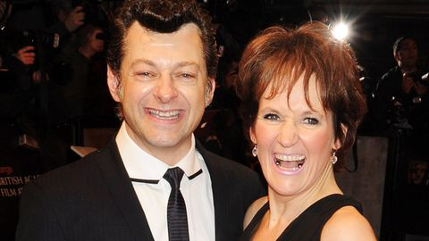 Andy Serkis wife Lorraine Ashbourne