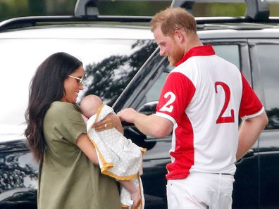 Baby Archie's surprise polo outing with Meghan Markle