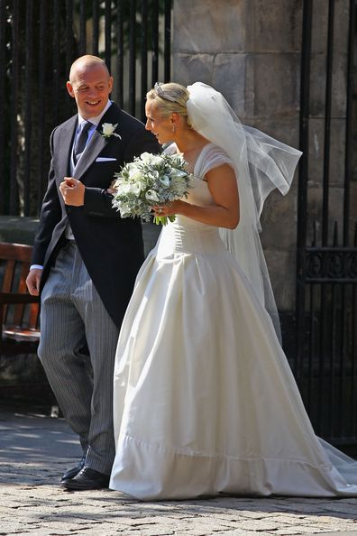 Zara Tindall wedding