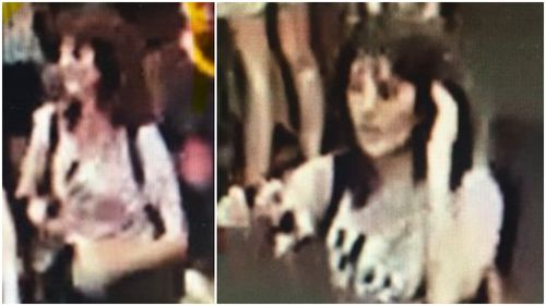 The last images of the 21-year-old before her death.