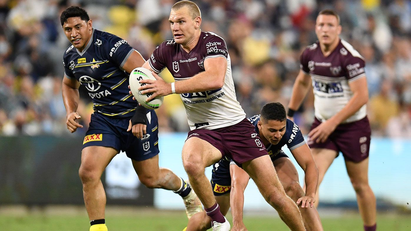 Tom Trbojevic puts up late contender for try of the year as masterclass secures top-four finish for Manly