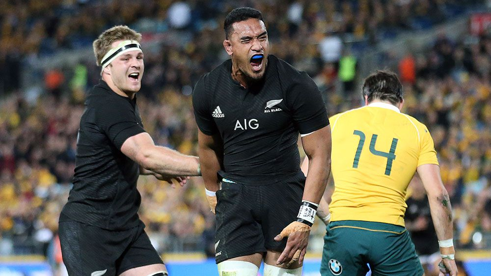 All Blacks pile record total on Wallabies
