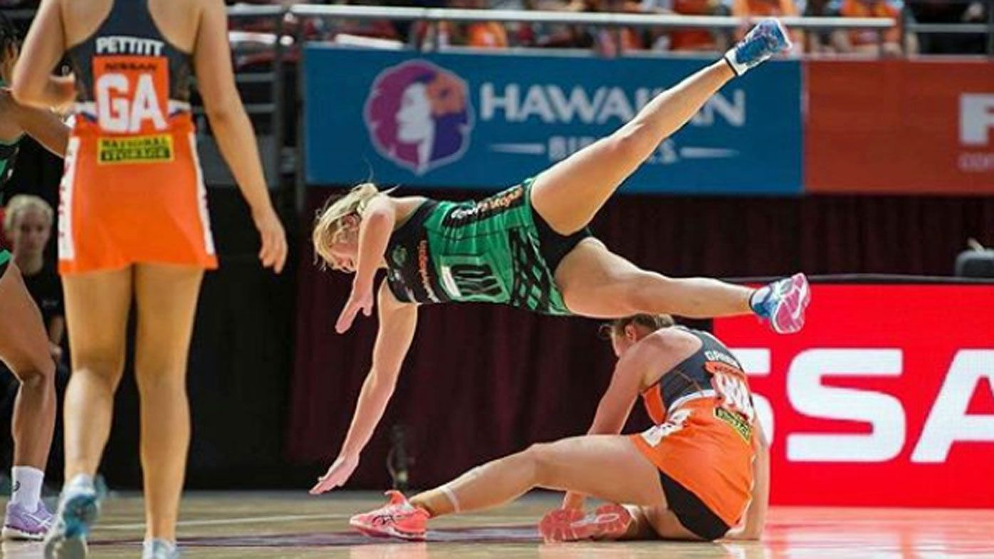 West Coast Fever star Jess Anstiss opens up about her commitment to playing physical brand of netball despite having one kidney