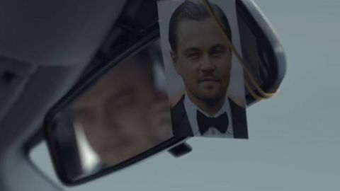 Leonardo DiCaprio's Russian lookalike stars in vodka ad