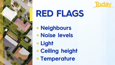Red flags when buying a property without an inspection.