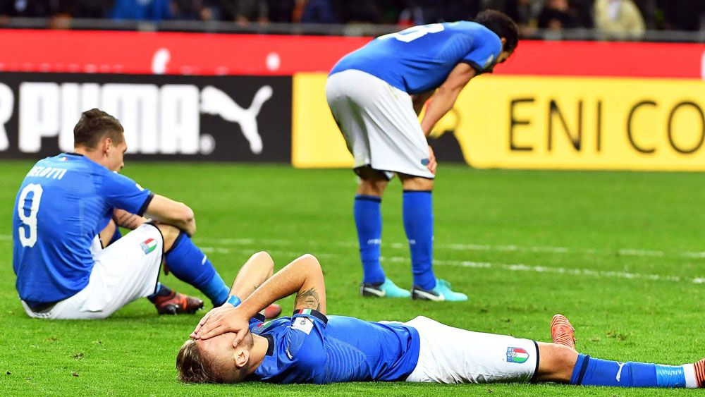 Sweden send Italy into World Cup abyss