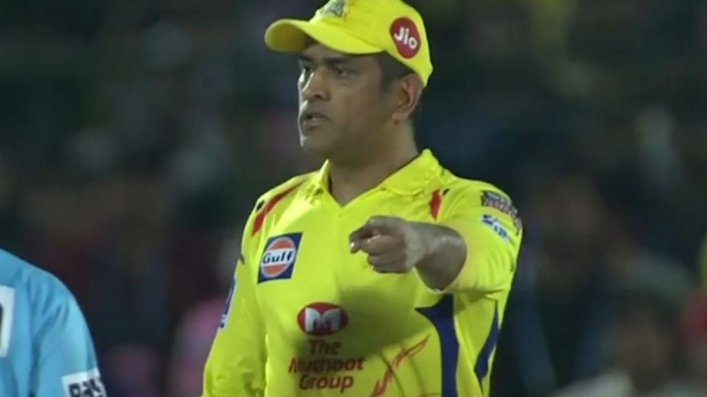 MS Dhoni fined for storming onto field in 'unbelievable' scenes