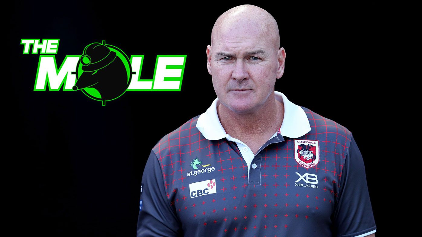 St George Illawarra Dragons in talks to extend contract of coach Paul McGregor: The Mole
