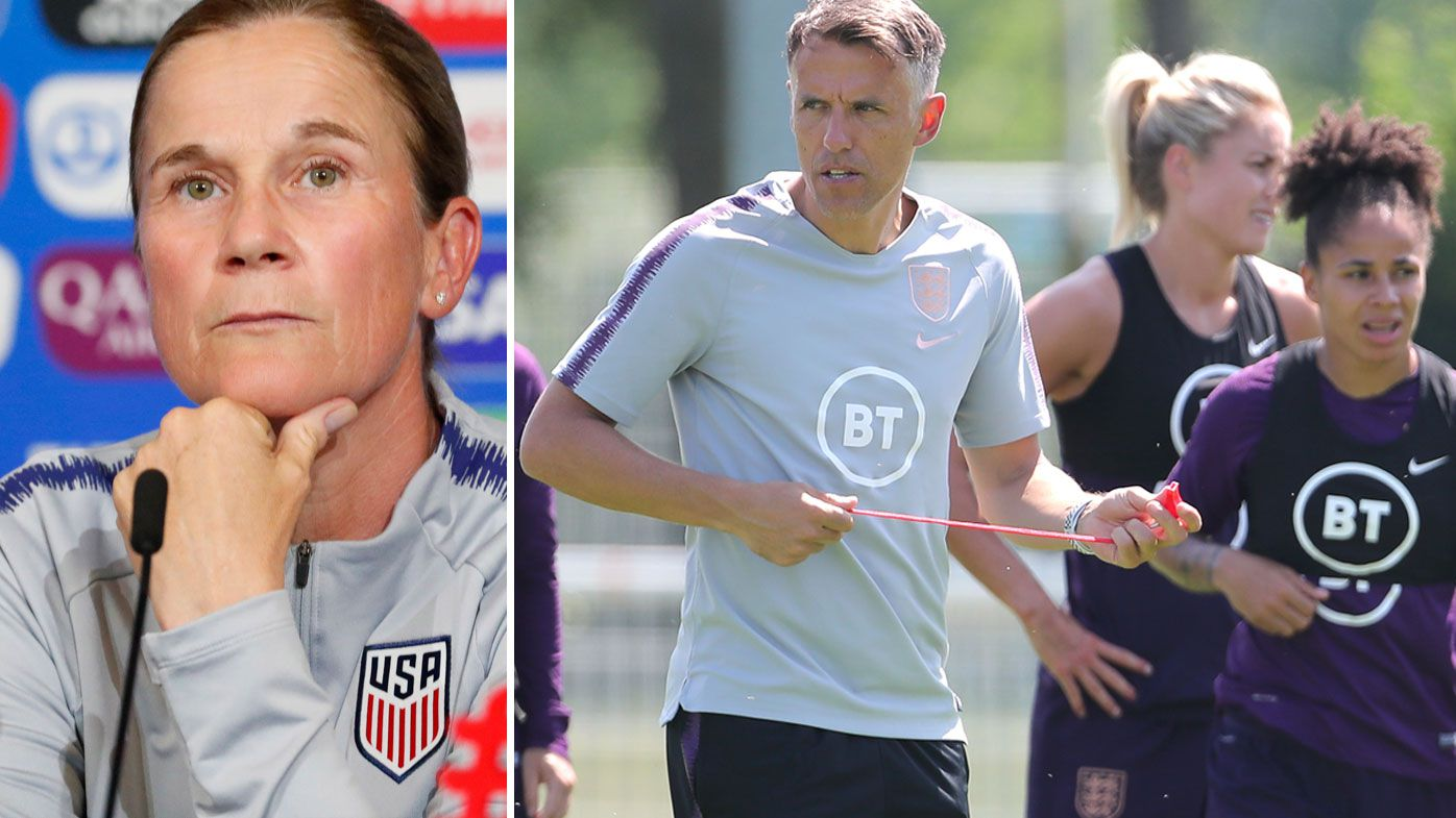 "USWNT etiquette questioned by England coach as ""spygate"" row erupts"
