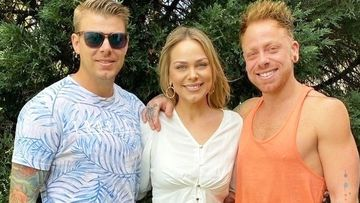 Jamie Wood, right, is pictured with his sister Samantha and brother Nicholas.