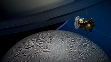 Saturn moon 'satisfies basic requirements for life'