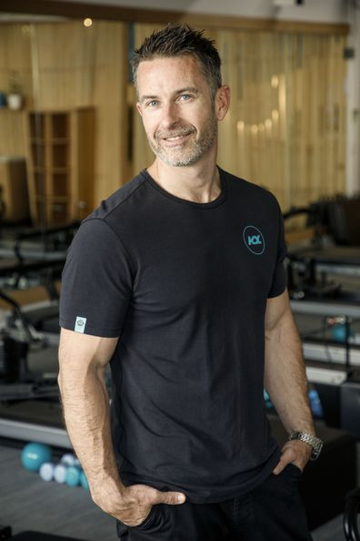 Aaron Smith was jet-setting across the world when he discovered Pilates.