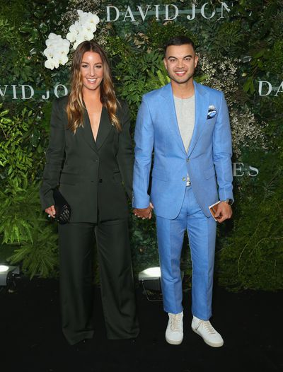 Singer Guy Sebastian and wife and blogger Jules