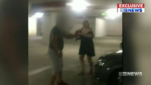 Emma Martin was smoking a cigarette when she was approached and allegedly attacked by Rewi Borell.