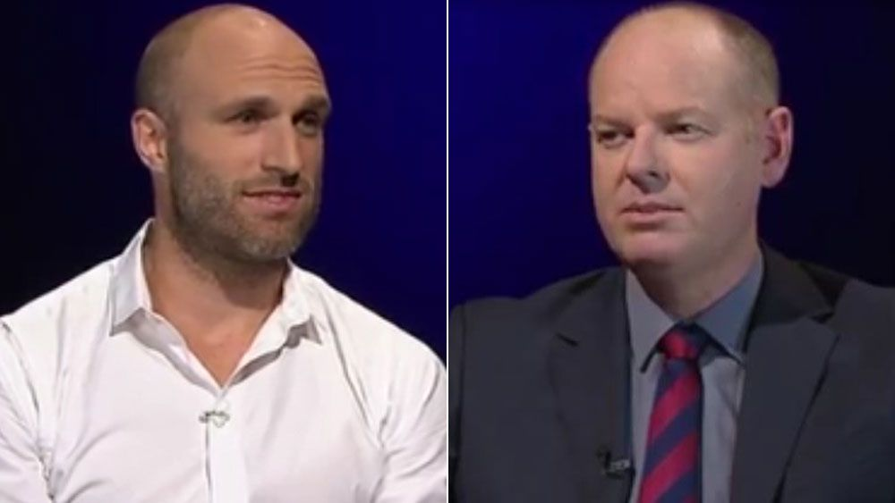 Chris Judd gets grilled about West Coast Eagles and Ben Cousins on Hard Chat