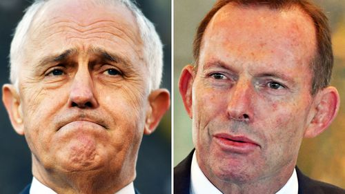 Malcolm Turnbull and Tony Abbott are continuing their war in the media.