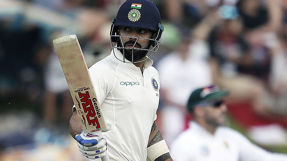 Cricket: Virat Kohli hammers another classy Test ton for India