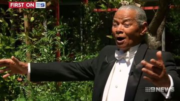 Veteran singer back on song after suffering stroke