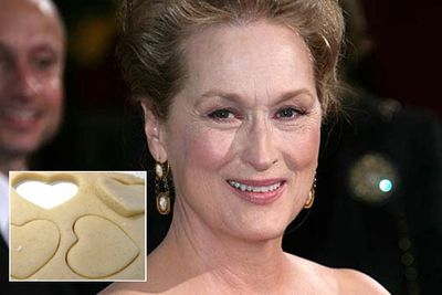 "Meryl has 16 Oscar nominations under her belt. Does she deserve an award for these cookies too?<br/><br/><a href=""http://celebrities.ninemsn.com.au/blog.aspx?blogentryid=948334&showcomments=true"" target=""new"">CLICK HERE FOR THE RECIPE</A><br/>"