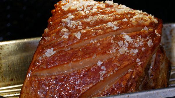 Make crispy, crunchy pork crackling