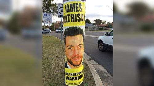 James Mathison to be charged cost of election poster removal