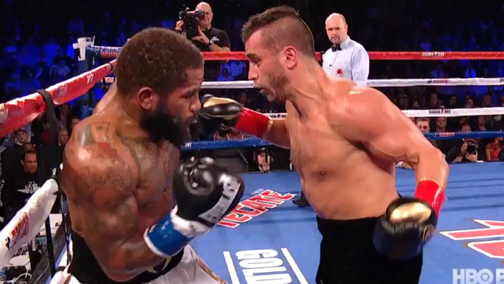 US boxer Curtis Stevens tweets he's OK after copping knockout of the year