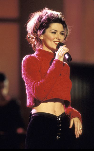 Shania Twain at the 2000 Billboard Music Awards.