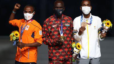Marathon royalty receive their reward