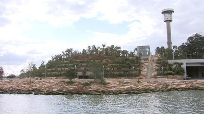 The reserve was closed off from the public for more than a decade. (9NEWS)