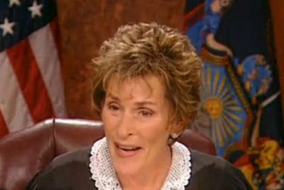 """<b>Judge Judy Perfect Put-down:</b> """"Dumb ideas come from people who have dumb brains."""""""