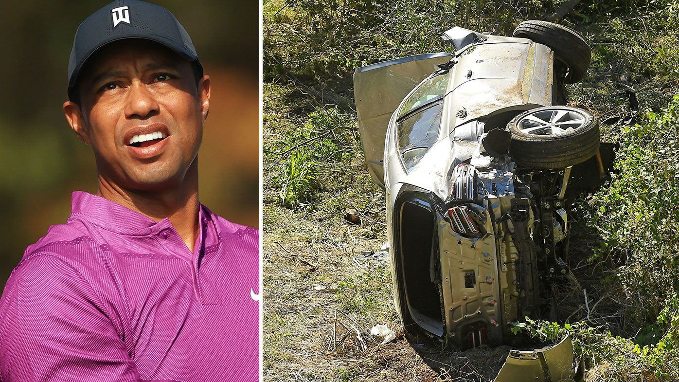 Tiger Woods, crash