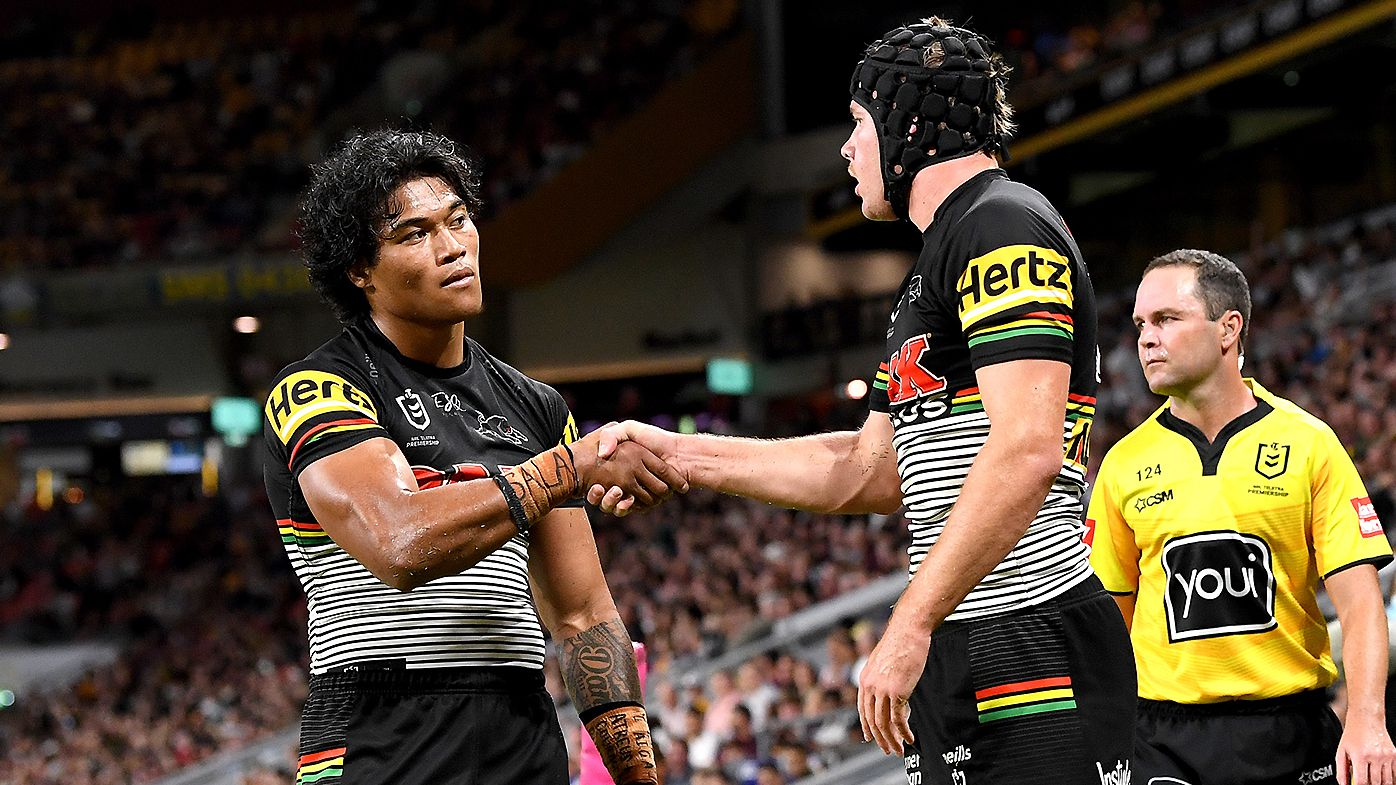 Penrith Panthers issue cheeky response to 'hate' with new try celebrations