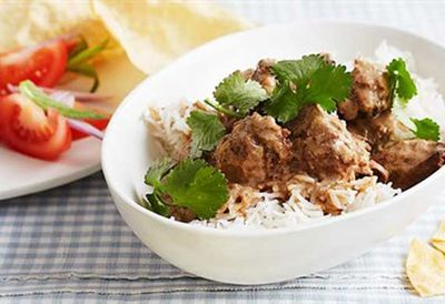 Coconut pork curry