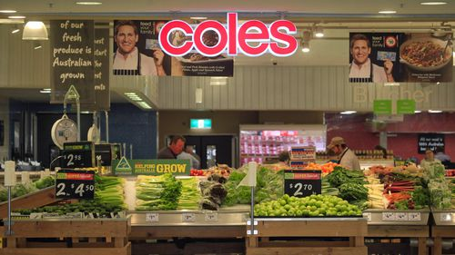 Coles shoppers won't be able to have single-use plastic bags from Sunday.
