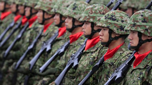 Japan is expanding its military