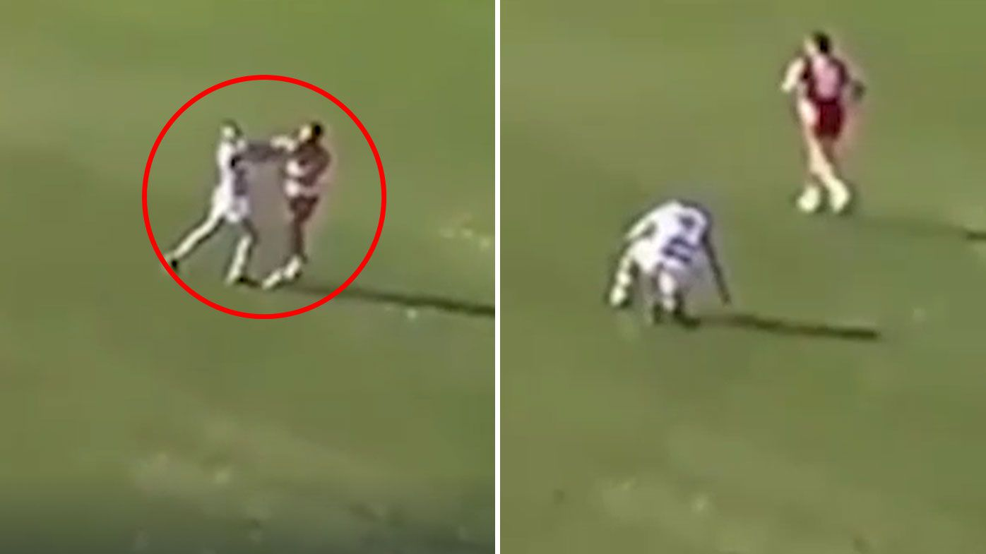 Former No.1 draft pick Paddy McCartin in hot water over sickening hit during VFL match