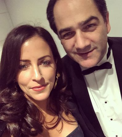 Michael 'Wippa' Wipfli, wife Lisa, photo