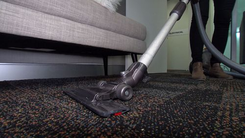 The average amount of lead found in dust from Sydneysiders' vacuum cleaners was just under 400mg per kilogram. (9NEWS)