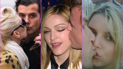 Awkward! Celebrity kisses gone wrong