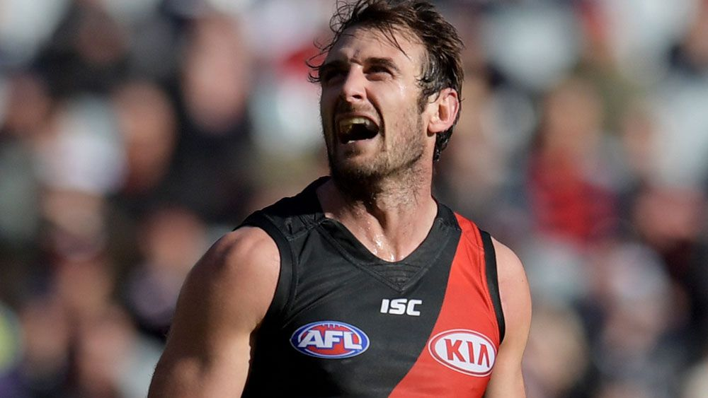 Essendon Bombers' Jobe Watson to retire at the end of the 2017 AFL season