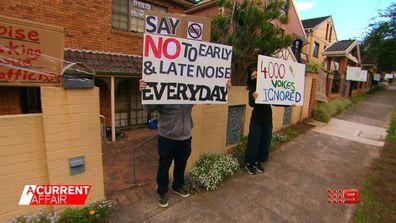 Residents fear neighbourhood mosque dispute could escalate.