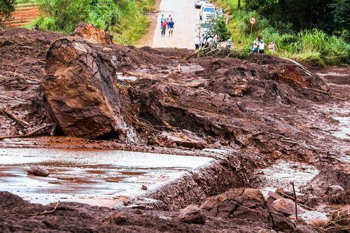Five dam workers have been arrested over the Brazil dam collapse tragedy.