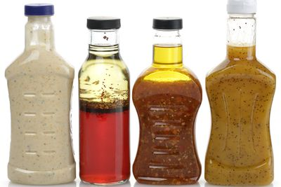 Low-fat salad dressing