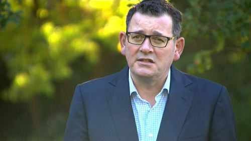 Premier Daniel Andrews said coronavirus cases in Victoria are nearing 700. Victoria Police have been bestowed with the power to slug individuals and businesses with fines for flouting social distancing measures