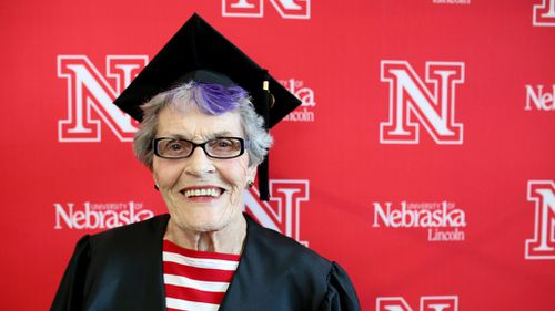 US woman graduates from university 68 years after she started